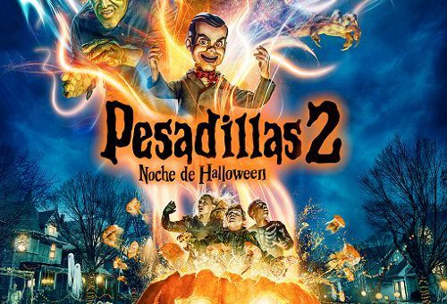 PESADILLAS 2: NOCHE DE HALLOWEEN                 (disponible a partir 22/0/2019)